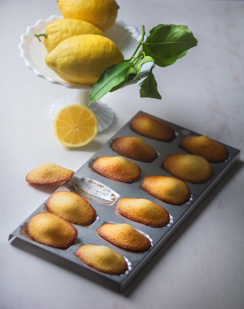 Recette des madeleines au citron sans gluten