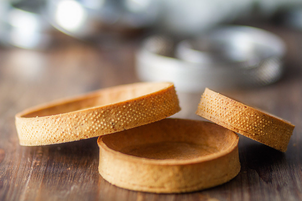Recette de la pâte sucrée à base de noisette inspiré de Pierre Hermé