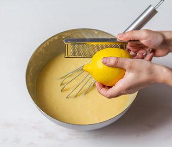 Recette madeleine citron sans gluten