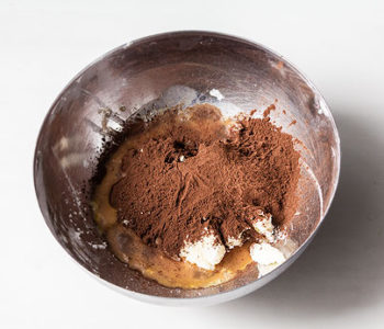 Recette tarte chocolat meringée