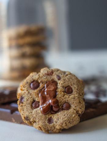 Recette du cookie végan sans gluten