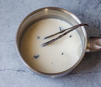 Recette de la crème anglaise à la vanille
