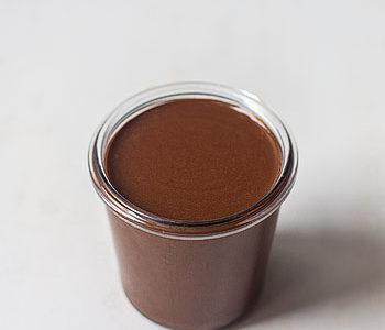 La recette de la pâte à tartiner chocolat noisette