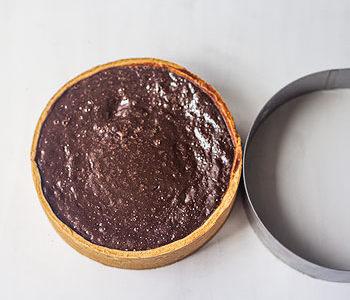 Recette de tarte fondante au chocolat