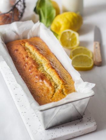 Recette du cake citron et graines de pavot