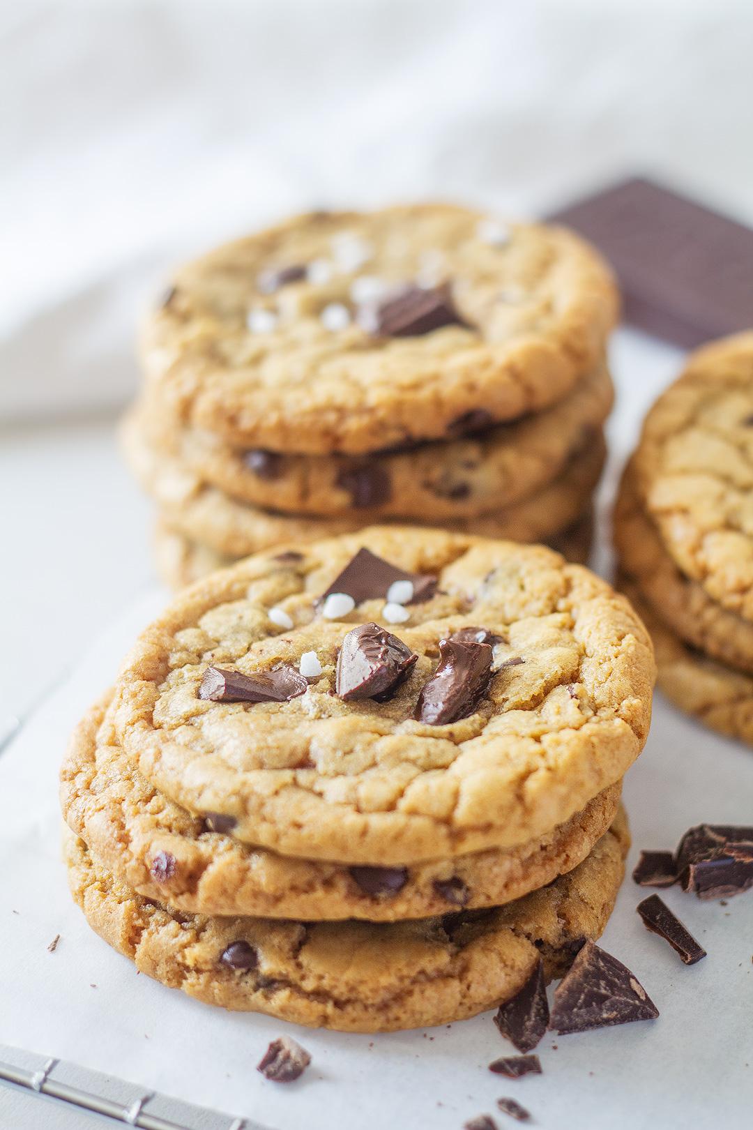 Recette des cookies aux chocolat