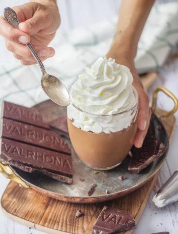 Recette de la crème dessert chocolat liegois